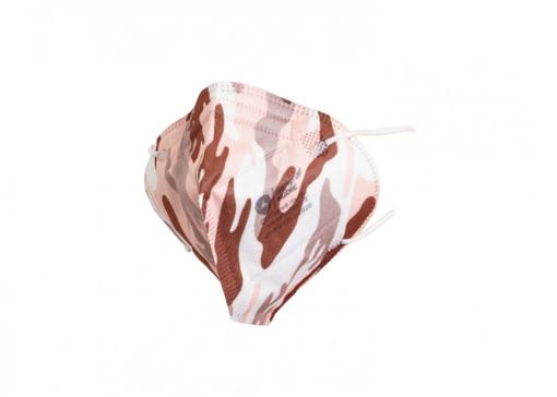 Obrázek z General Public Protection Designová obličejová rouška TAKTIK Růžová