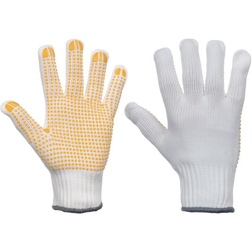 Obrázek z Cerva PLOVER YELLOW CUT Pracovní rukavice