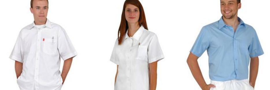 Zdravotnické oděvy nejen v bílé barvě