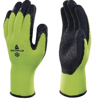 Obrázek DeltaPlus APOLLON WINTER VV735 Pracovní rukavice zimní žluté