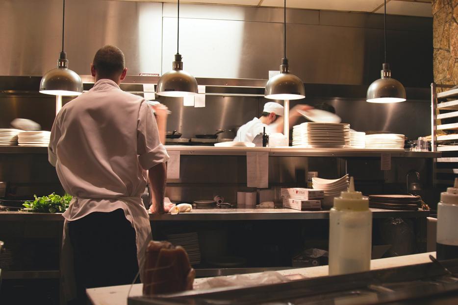 I kuchařský rondon může být trendy outfitem: zaměřeno na barvu